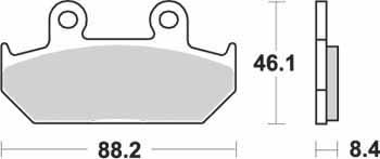 KYOTO - PLACUTE FRANA S1005A = SBS600 (ORGANICE)