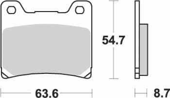 KYOTO - PLACUTE FRANA S1007 = SBS555 (ORGANICE)