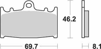 KYOTO - PLACUTE FRANA S1032 = SBS631(ORGANICE)