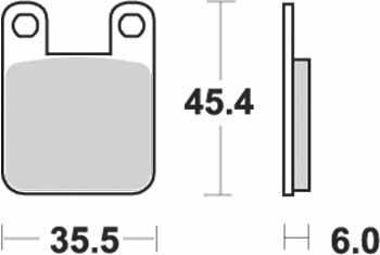KYOTO - PLACUTE FRANA S1066 = SBS105-SBS559 (SEMIMETALICE)