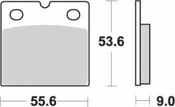 KYOTO - PLACUTE FRANA S1076A = SBS506 (ORGANICE)
